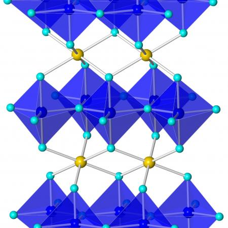 YInMn crystal structure