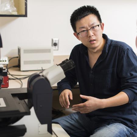 OSU physicist Bo Sun